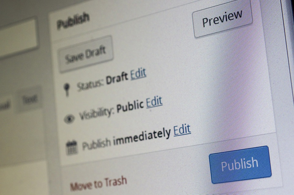 Ecco come programmare un articolo su wordpress